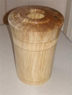 Silver Birch vase by Bert Lanham